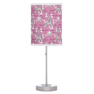 Aristocats | Marie Paris Pattern Desk Lamps