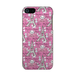 Aristocats | Marie Paris Pattern Incipio Feather® Shine iPhone 5 Case