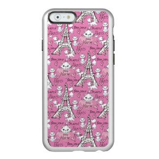 Aristocats | Marie Paris Pattern Incipio Feather® Shine iPhone 6 Case