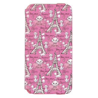 Aristocats | Marie Paris Pattern Incipio Watson™ iPhone 6 Wallet Case