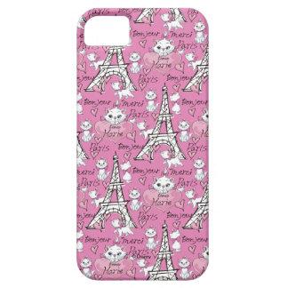 Aristocats | Marie Paris Pattern iPhone 5 Cases