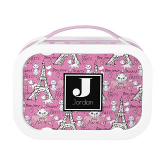 Aristocats | Marie Paris Pattern Lunch Box