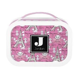 Aristocats | Marie Paris Pattern Lunch Box