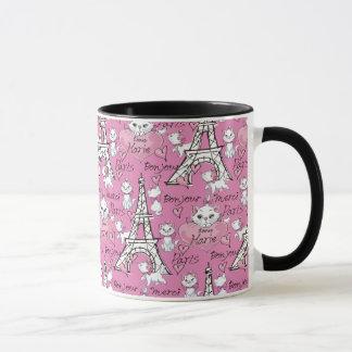 Aristocats   Marie Paris Pattern Mug