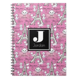 Aristocats | Marie Paris Pattern Notebook