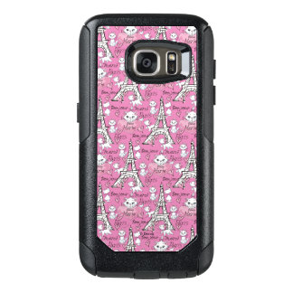 Aristocats | Marie Paris Pattern OtterBox Samsung Galaxy S7 Case