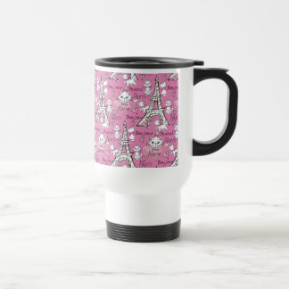 Aristocats | Marie Paris Pattern Travel Mug
