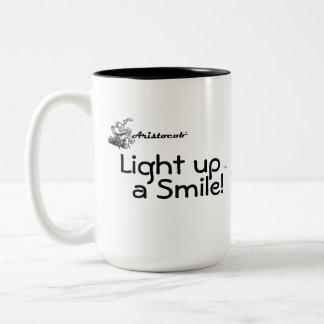Aristocob: Light up a Smile! Mug