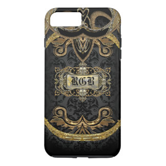 Aristocratic Lady Elegant Gothic Beauty Monogram iPhone 8 Plus/7 Plus Case