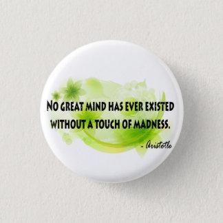 Aristotle 1 Inch Round Button