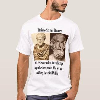 aristotle_altemps, homer, Aristotle on Homer, I... T-Shirt