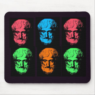 Aristotle Collage Mouse Pad