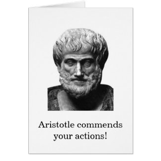 Aristotle Encouragement Card