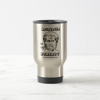 Aristotle is my Homeboy Travel Mug