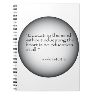 Aristotle Quote Notebook