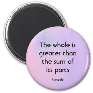 Aristotle wisdom magnet