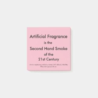 Aritficial Fragrance Post-It Notes