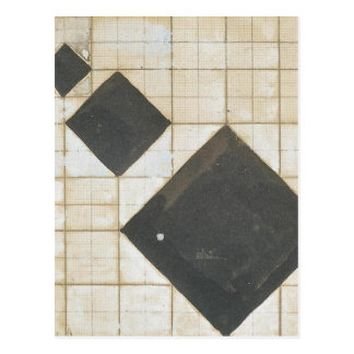 Arithmetic composition by Theo van Doesburg Postcard