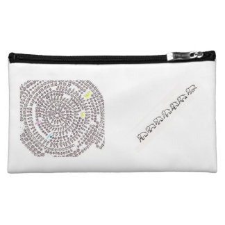 Arithmetic Mandara make-up porch of rainbow color Makeup Bag