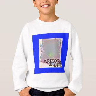 """Arizona 4 Life"" State Map Pride Design Sweatshirt"
