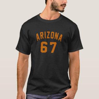 Arizona 67 Birthday Designs T-Shirt