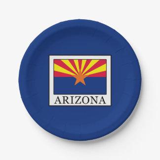 Arizona 7 Inch Paper Plate