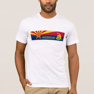 Arizona and Gadsden Flag T-Shirt