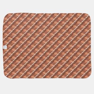 ARIZONA Antelope Canyon A - Red Rock Echo Print. Baby Blanket