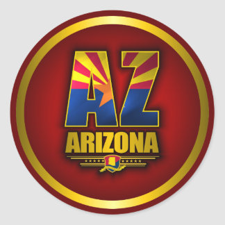 Arizona (AZ) Classic Round Sticker