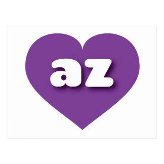 Arizona az purple heart post cards