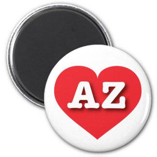 Arizona AZ red heart Magnet