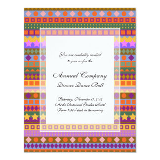 Arizona Aztec Desert Colors Southwest ZigZag Card