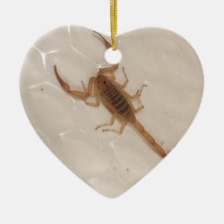 Arizona Bark Scorpion Ceramic Ornament