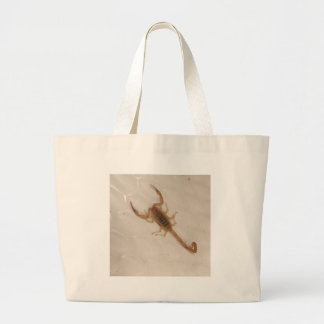 Arizona Bark Scorpion Large Tote Bag