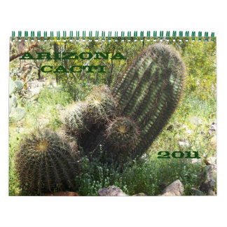 Arizona Cacti Wall Calendars