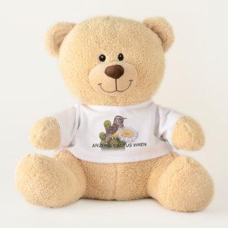 ARIZONA CACTUS WREN TEDDY BEAR