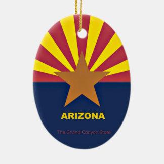 Arizona Ceramic Ornament