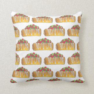 Arizona Chimichanga Foodie Burrito Tex Mex Food Throw Pillow