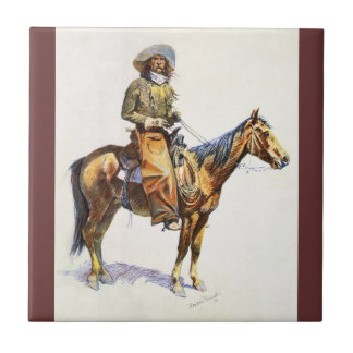Arizona Cowboy Remington Tile