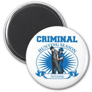 Arizona Criminal Hunting Season Refrigerator Magnets
