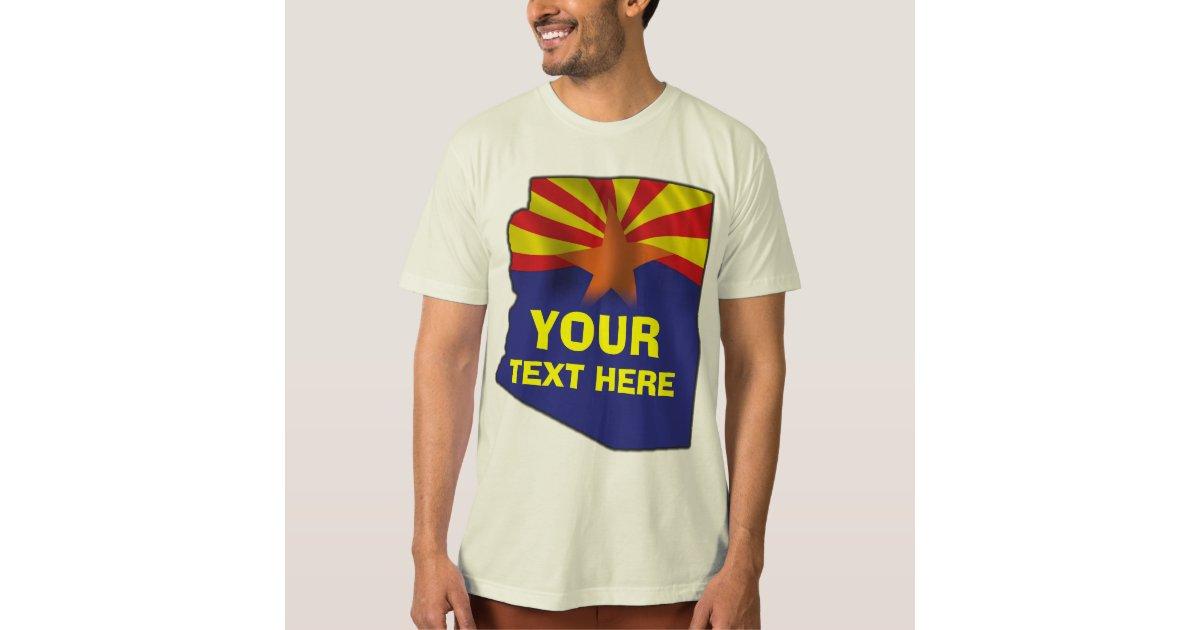 Arizona custom t shirt zazzle for Zazzle custom t shirts