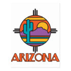 Arizona Desert Mandala Postcard