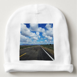 Arizona Desert Road in the southwestern U.S. Baby Beanie