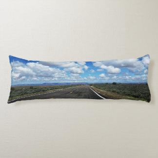 Arizona Desert Road in the southwestern U.S. Body Pillow