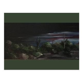 Arizona Desert Sunset Southwest Postcard
