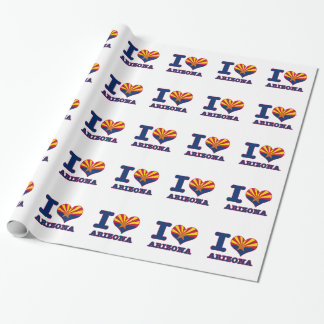 Arizona design wrapping paper