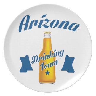 Arizona Drinking team Plate