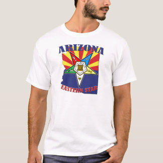 Arizona Eastern Star State Flag T-Shirt