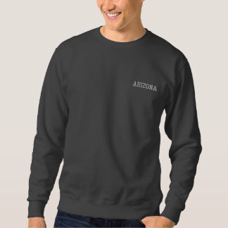 Arizona Embroidered Basic Sweatshirt Dark Grey 2