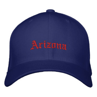 Arizona Embroidered Hat